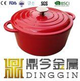 鍋または鋳鉄の調理器具の調理