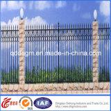 鉄道によって電流を通される錬鉄の塀または錬鉄の塀または鉄の囲うこと