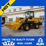 Cargador de la rueda del nuevo compacto del diseño de la fabricación de China mini (1.6ton 0.7cbm ZL20)