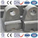 Pista de martillo aleada cromo de la trituradora de piedra