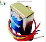 Transformador de baixa frequência da montagem Ei