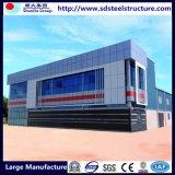 Campo modular del trabajador de construcción de la estructura de acero de la fabricación