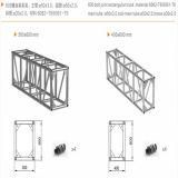 600 Schrauben-Verbindungs-Binder-Binder-Bildschirmanzeige/Binder-Projekt-/Leistungs-Binder/Aluminiumstadium/Stadiums-Beleuchtung/Ausstellungsstände/Beleuchtung-Binder/Licht-Bildschirmanzeige/bewegliches Stadium