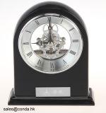 고품질 아름다운 해골 피아노 완성되는 나무로 되는 책상 시계 K8001