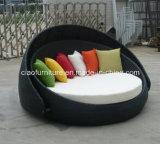 Алюминиевый ротанг Sunbed мебели патио