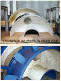 Di ceramica allineato per la tramoggia della fornace dell'officina siderurgica