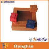 다른 색깔 보석 포장지 선물 상자