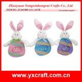 Het Zachte Stuk speelgoed van het Konijntje van de Ambacht van Pasen van de Decoratie van Pasen (zy14c879-1-2)