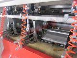 Ascenso-descenso de cartón caja de papel de la máquina que raja