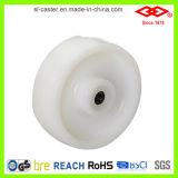 Industrielles weißes Nylonfußrollen-Rad (P102-20D080X35)