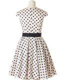 Commercio all'ingrosso del vestito delle retro donne di stile di anni '50 su ordine dell'annata di piccola quantità
