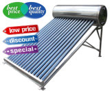 calefator de água 200L solar de alta pressão com o coletor solar da Calor-Tubulação