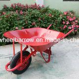 アラビア市場のための単一の空気車輪の手押し車