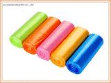 HDPE Plastikabfall-Beutel mit verschiedenen Farben