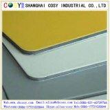 Panneau composé en aluminium de Reliablity de panneau élevé de fasce