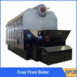 chaudière complètement automatique allumée par charbon de grille de la chaîne 6ton