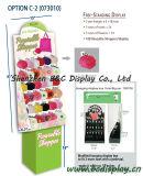 Einkaufen-Papierhaken-Bildschirmanzeige, Papphaken-Ausstellungsstand, Geschenk-Kasten, Papierwühlkorb (B&C-B001)