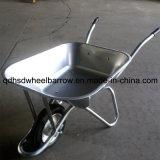 Metaltellersegment-Malaysia-Markt-Schubkarre (Wb6220) mit festem Rad