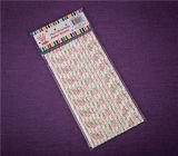 Pajitas de papel con prueba FDA