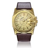 6838gld Mens Big Dial Watch