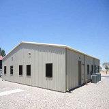Entrepôt préfabriqué léger modulaire d'usine de matériau de construction de Chambre de bâti en acier