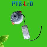 Venta caliente 2016 3 años de garantía Dimmable LED Downlight