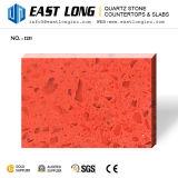 卸し売り設計された石または壁パネルのためのカスタマイズされた多彩な磨かれた水晶石の平板
