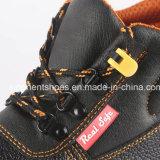 O trabalho de aço das sapatas do plutônio da segurança do dedo do pé dos homens carreg RS6166
