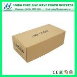 Inverseur pur portatif de pouvoir d'onde sinusoïdale de DC24V AC110/120V 1000W (QW-P1000)