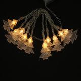 반짝임 LED 끈 가벼운 번쩍이는 크리스마스 나무 빛 크리스마스 훈장