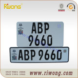 Reflective Sheetの明白なAluminum Number Plate