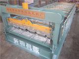 Trapèze de panneau de toit formant la machine