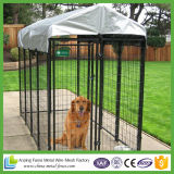 Qualitäts-Metallpreiswertes Kettenlink-Tiergehäuse für Hund