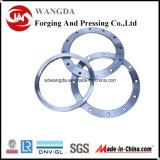Bride d'acier du carbone de norme ANSI d'ajustage de précision de pipe