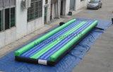 Stuoia gonfiabile dell'aria della pista Tumbling gonfiabile calda di vendita per addestramento di ginnastica