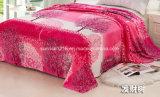 Tissu de couverture de flanelle estampé par qualité