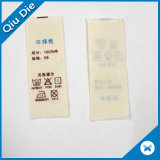 중국제 아기 옷 액세사리를 위한 레이블을 인쇄하는 연약한 면