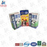 Material del acondicionamiento aséptico para la leche y el jugo