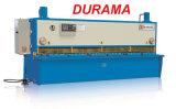Durama Stahlblech metallschneidend, Platten-Ausschnitt-Maschine, hydraulische Guillotine-scherende Maschine