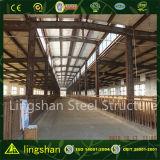 Здание конструкции фермы коровы низкой стоимости стальной структуры Pre-Инженера