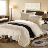 El lecho de /Home del hotel fijó la hoja 100% de cama del algodón