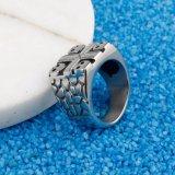 イスラム教の十字のステンレス鋼のためのリングによってサイズ調整をされる頭骨のリング