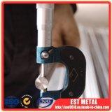 Barre ronde de titane de cornière de conducteur d'ASTM B348