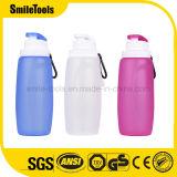 бутылка воды спортов силикона доказательства утечки 320ml складная складная