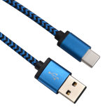 Type-c de la promotion USB3.1 câble de remplissage rapide de chargeur de caractéristiques avec le nylon