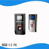 Tempo e comparecimento biométricos da impressão digital do projeto magro