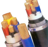 4 het Aluminium van de kern of pvc van het Lage Voltage van het Koper isoleerde en stak de Kabel van de Macht in de schede