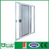 Porta deslizante de alumínio horizontal com vidro laminado