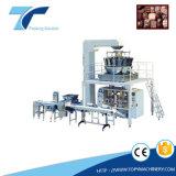 Machine à ensacher façonnage/remplissage/soudure verticale automatique d'emballage
