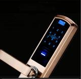 Blocage de porte biométrique électronique de traitement d'empreinte digitale de carte d'IDENTIFICATION RF de clés d'empreinte digitale F4